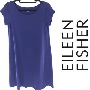 Eileen Fisher Blue T shirt Dress
